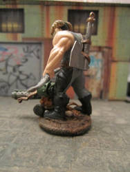 Kit bashed Shadowrun Troll with Ax and Bow by gambit4802