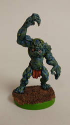Troll Big Guy for Ork Blood Bowl Team by gambit4802