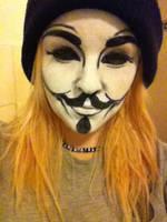 V for Vendetta. by Onii-Jurai