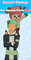 One Piece-Season's Greetings by axelfar