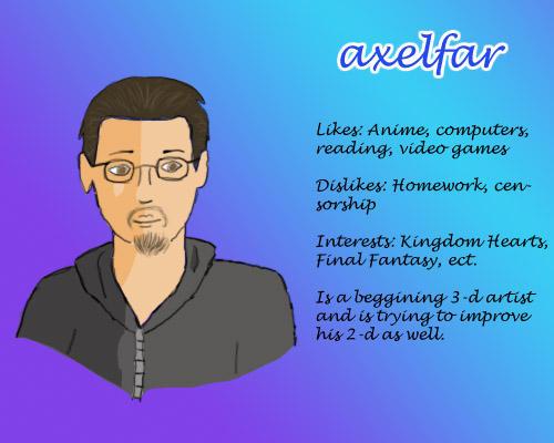 axelfar's Profile Picture