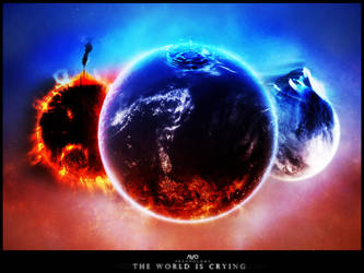 The world is crying Battlework by Freestyler92