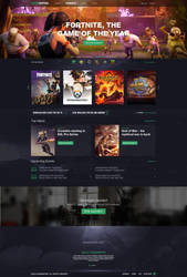 Game Empire Community Website by Freestyler92