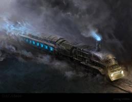 Ghost train by karola-j