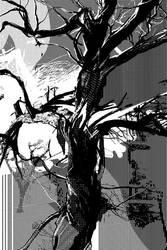 Burning Tree by karola-j