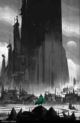 The Temple of Arrival book cover by ArtofReza