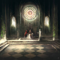 court of Light by ArtofReza