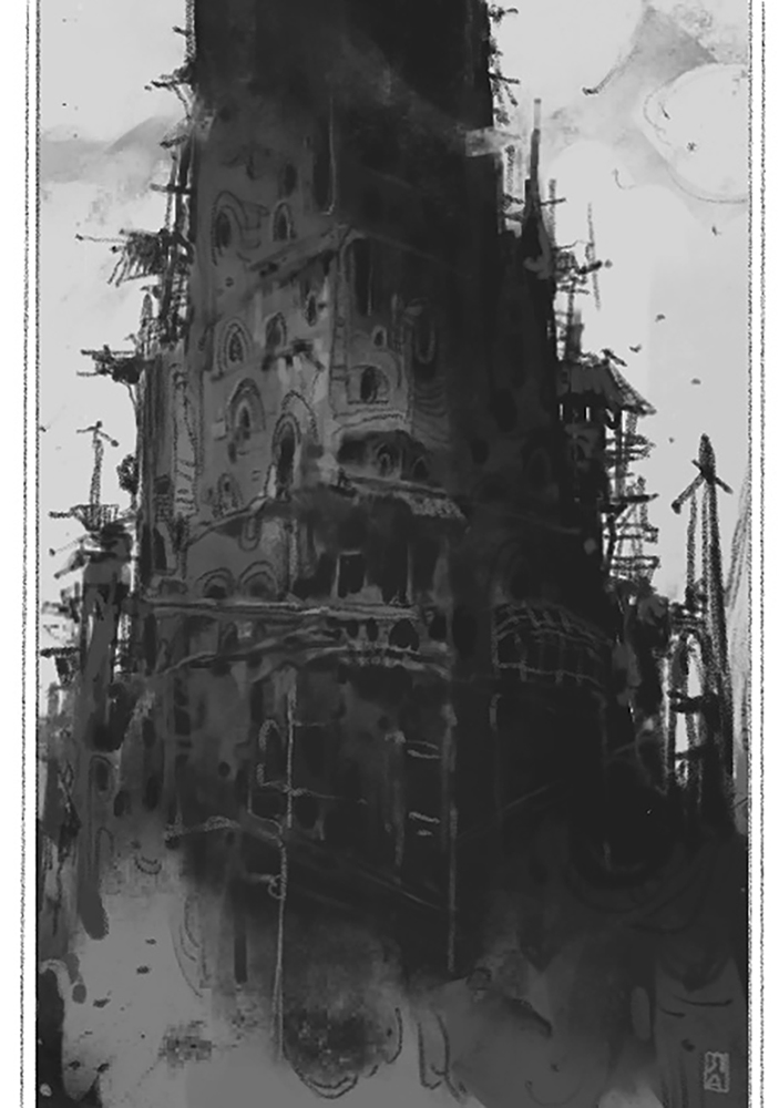 Creepy Castle by ArtofReza