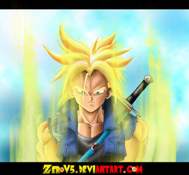 Super Saiyan Trunks by TrebleEXE