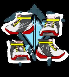 Random draw - Shashoes (Shadow style) by ColdFan