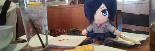 Touka at Lunch by SmileTheRider