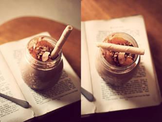 Chocolate Orange Mousse. by sayra