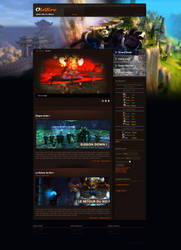 Free Joomla Template For World Of Warcraft Mop By Joomladsgn On Deviantart