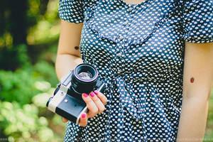 Retro camera by Lilplague