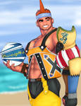 Wakka Fan Art! by geoffreydean