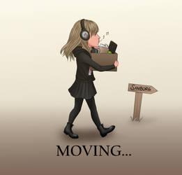 Moving accounts by Sandra-Danborg