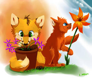 Spring Time! by FeyNeko