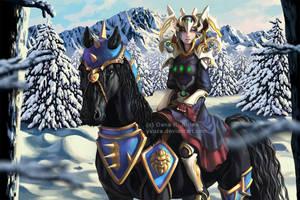 Winter Elf by Yuuza
