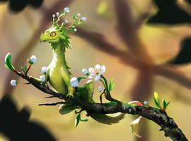 Spring Dragon by Yuuza