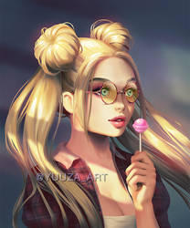 Usaghi hipster by Yuuza
