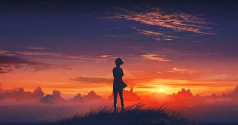 Beyond the horizon by agnidevi