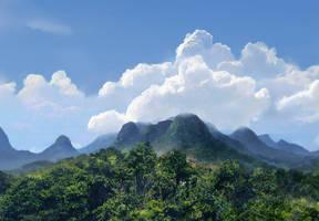 Tropicscape by agnidevi