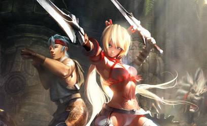 X-Blades by agnidevi