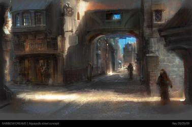Aquapolis street concept by agnidevi