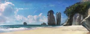 Aquapolis suburb beach concept by agnidevi