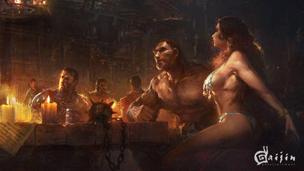 Braveheart - Tavern by agnidevi