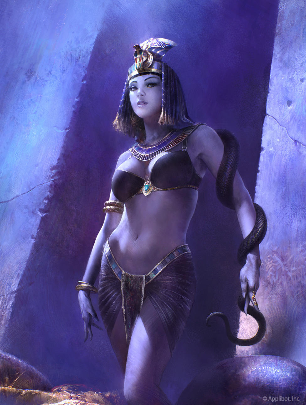 Snake Queen by agnidevi
