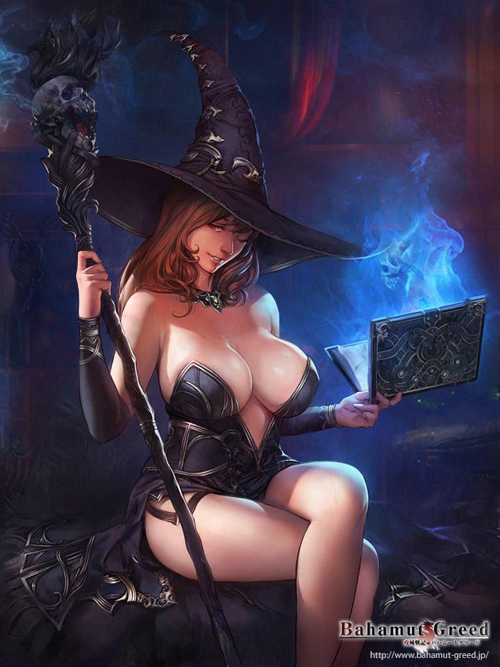Black Sorceress by agnidevi