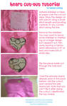 Heart Cut-out Tutorial by nyunyucosplay