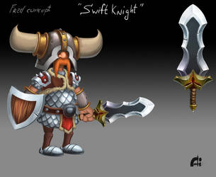Knighte Sword by Waranry