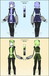 Linnet and Kobi Redesigns [September 26th, 2018] by BlueBead