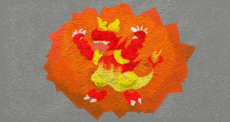 Magmar Painting 2 by bulmabriefs1313303