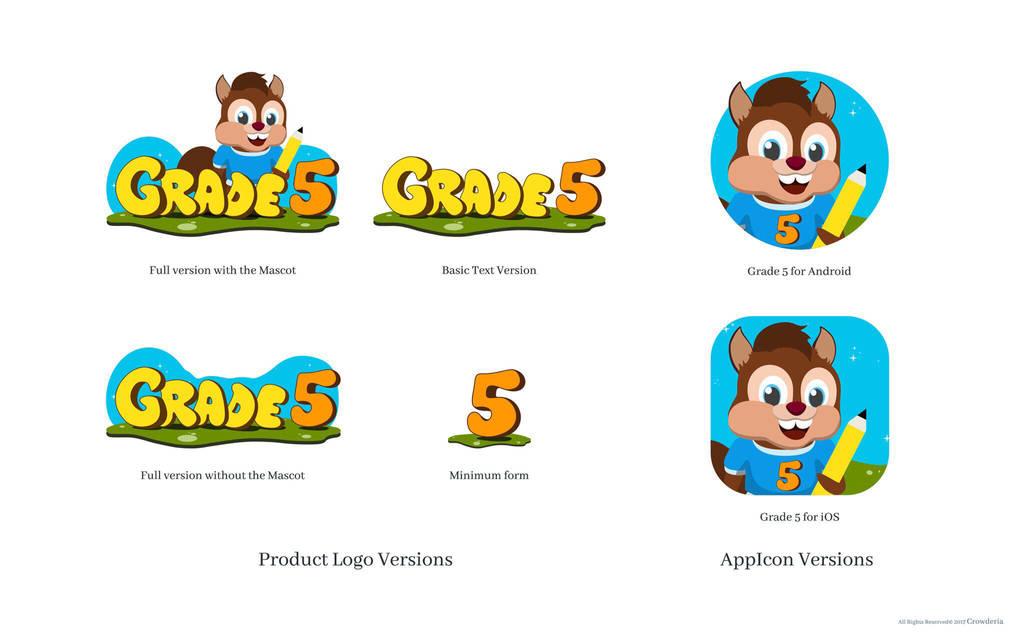 Grade5 Mascot and Branding by MickeyTheSaviour