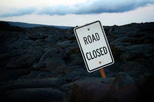 Road Closed by MetaAnomie