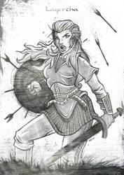 Lagertha (Vikings) by FATRAPOSO