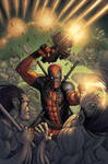 Deadpool Cover by alexsollazzo