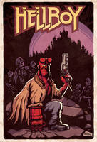 Hellboy by alexsollazzo