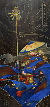 Samurai Priest Zelda by deerlordhunter