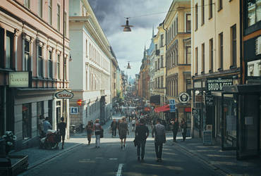 Capital of Sweden by DagHagerius