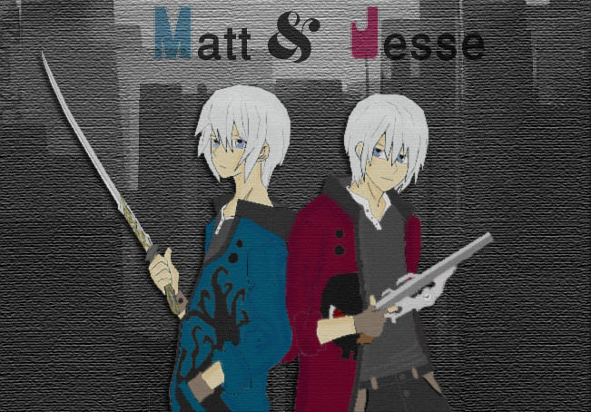 Matt and Jesse by RinoaBC