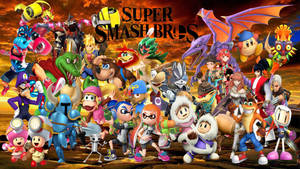 Super Smash Bros Ultimate NewComers and Veterans by DarkManGc