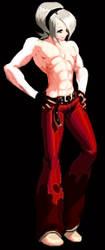 Ash Crimson KOF XII pixel evo2 by masarebelth