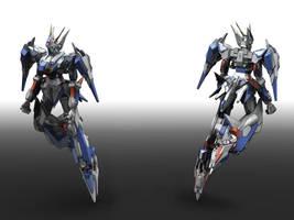 Gundam Alexia Ver.ma p1 by masarebelth