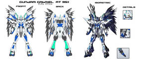 Gundam Gabriel P1 by masarebelth