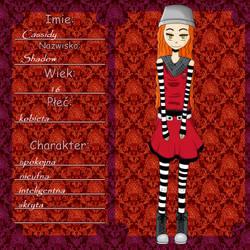 Cassidy karta by Zuari-chan