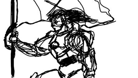 Warrior's Triumph by NarthArt